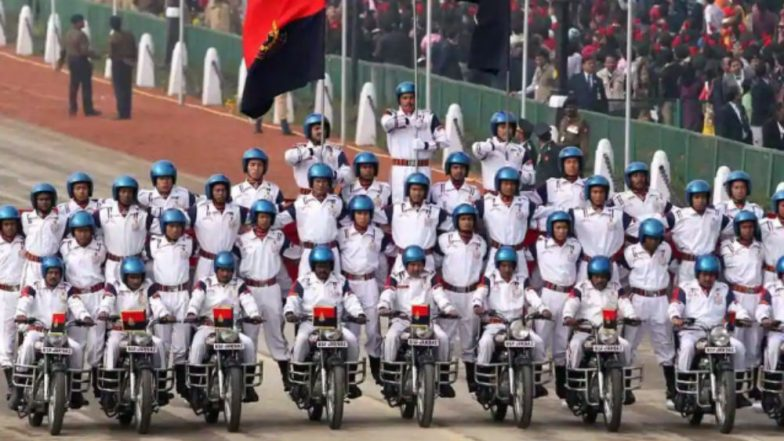 BSF Trick Riding Team 'JANBAZ' Motorcyclist Made Seven World Records in Five Days