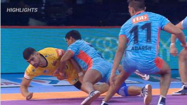 PKL-6 Video Highlights: Bengal Warriors Defeat Telugu Titans 30-25 in Zone B Clash