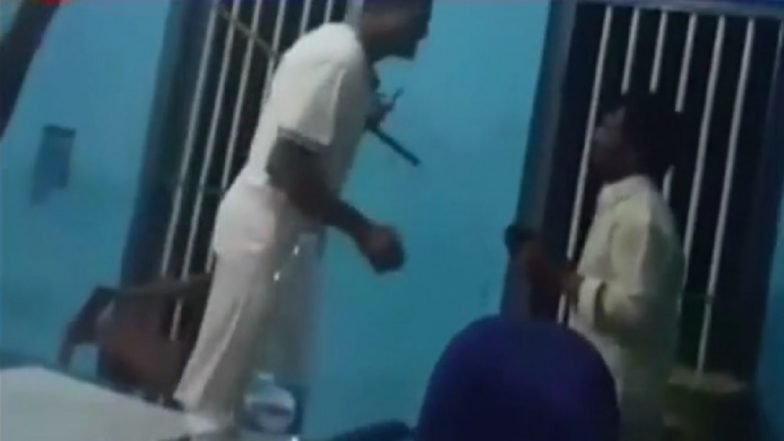 Bengaluru Cops Force Suspect to Dance Inside Police Station on Telugu Movie Song, Watch Video