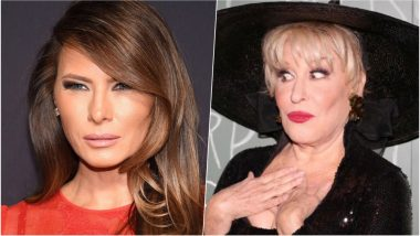 Bette Midler Shares Old Semi-Nude Pic of Melania Trump, Slammed by Twitterati