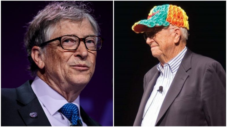 Bill Gates Shares Photo of His Father Wearing a Baseball Cap Made From Condoms; Here's Why