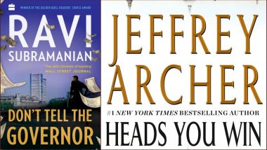 Ravi Subramanian's Don't Tell the Governor to Jeffrey Archer's Heads You Win, Five Books to Look Forward to in November 2018