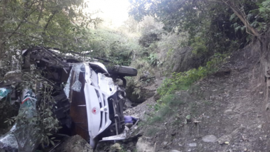 Uttarakhand Mishap: 8 Dead, 5 Injured After Vehicle Falls Into Gorge Dewal Area of Chamoli District, Trivendra SIngh Rawat Orders Magisterial Inquiry