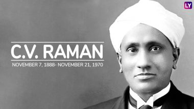 CV Raman Death Anniversary: Twitterati Remembers the Physicist Who Won Nobel Prize for Physics in 1930