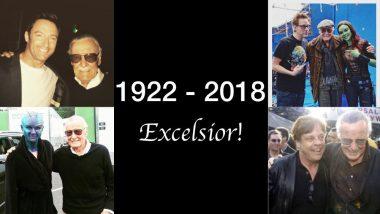 Stan Lee Passes Away At 95: Hollywood Celebrities Chris Evans, Hugh Jackman, Ryan Reynolds, Zoe Saldhana Mourn His Demise