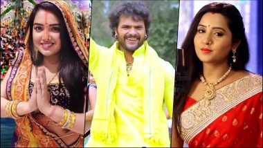 Chhath Geet 2018: Download Bhojpuri Songs by Amrapali Dubey, Khesari Lal Yadav, Kajal Raghwani & Others for Chhath Puja (Watch Videos)