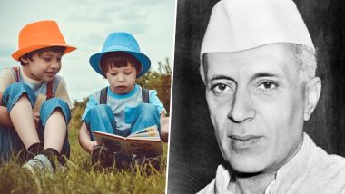 Children's Day 2018: Know the History, Significance and Celebrations Behind Celebrating Bal Diwas on 14th November