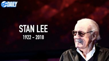 DC Comics Reacts To Stan Lee's Demise: He Changed The Way We Look At Heroes. Excelsior, Stan