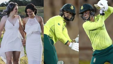 Dane van Niekerk, Marizanne Kapp First and Only Married Couple To Bat Together In ICC Tournament, Watch Video