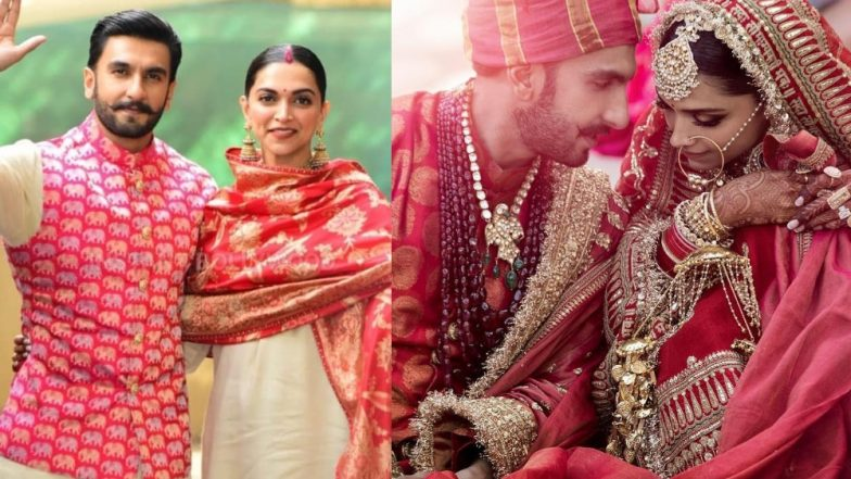 Newlywed Deepika Padukone And Ranveer Singh Are Not Done With Sabyasachi Creations Yet - See Pics