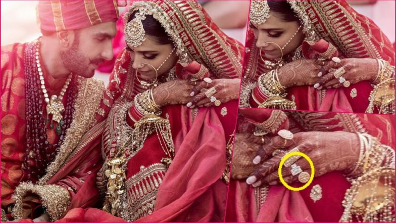 Deepika Padukone's HUGE Diamond- Studded Wedding Ring Is Enviously Gorgeous! - See Pic INSIDE