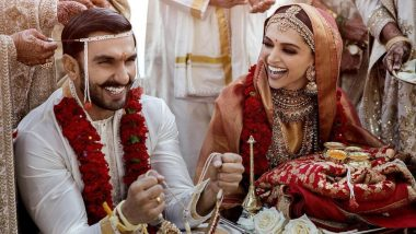 Deepika Padukone's Wedding Post On Instagram Clocks 2.6 Million Likes Within One Hour!