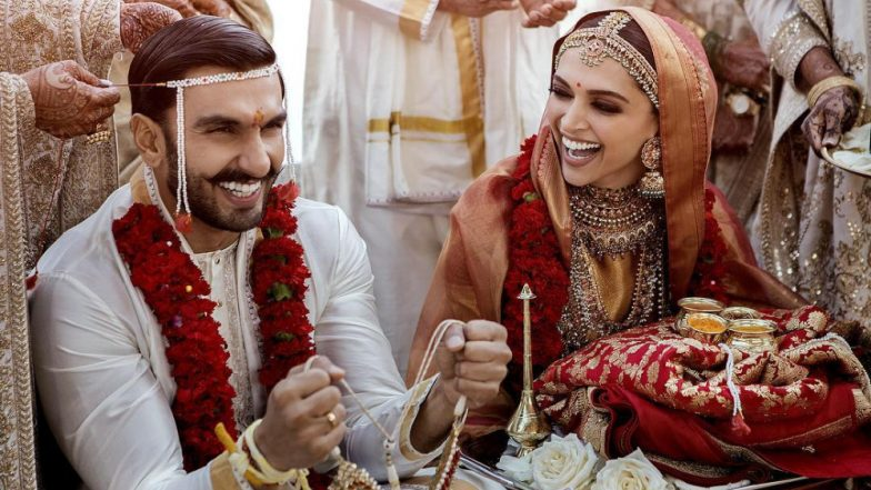 Deepika Padukone – Ranveer Singh Wedding Album: Witness All the Pictures From This Power Couple's Italian Wedding Right Here