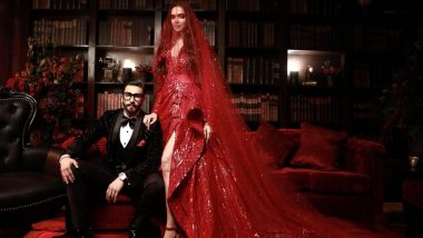Deepika Padukone and Ranveer Singh Look Like a Match Made in Heaven in These First Pictures From Their Reception