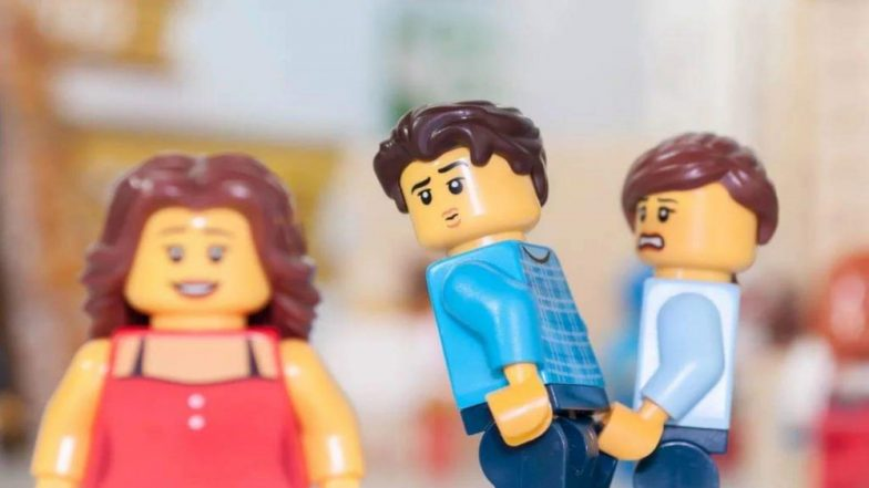 'Distracted Boyfriend' Meme Recreated With Lego by a Photographer, View Pic