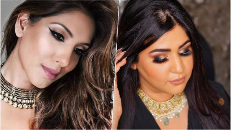 Diwali 2018 Makeup Tips: Get Diwali Party Ready With Dewy Skin to Shimmery Eye Shadow Colour Play! Watch Video Tutorials for Festive Beauty Looks