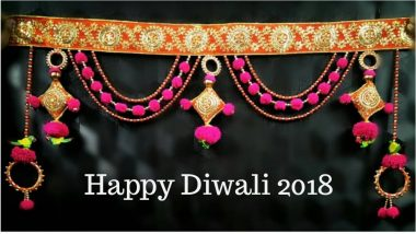 Diwali 2018 Decoration Ideas: Tips on How to Make Toran from Leaves & Flowers at Home – See Videos