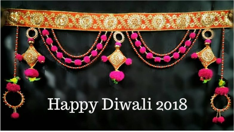 Diwali 2018 Decoration Ideas: Tips On How To Make Toran From Leaves U0026  Flowers At