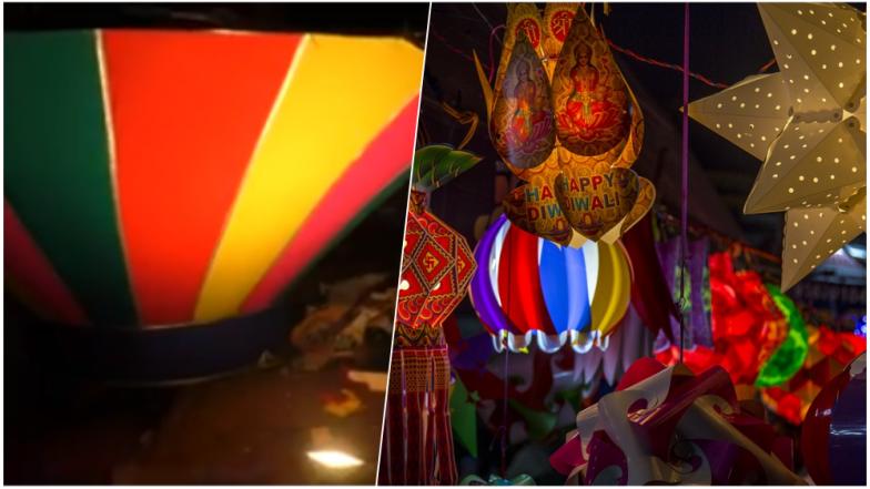 Diwali 2018 Celebrations: 40 Feet Lantern Installed at Panaji in Goa, Watch Video