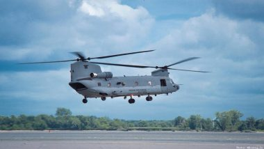 Boeing's CH-47F Chinook Helicopter Handed Over to IAF at Transfer Ceremony Held in Philadelphia