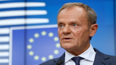 EU President Donald Tusk Says Summit to Sign Brexit Deal November 25