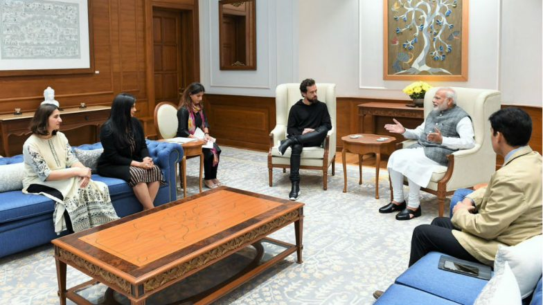 Narendra Modi Meets Twitter CEO Jack Dorsey in India, Says 'I Enjoy Being on Twitter'
