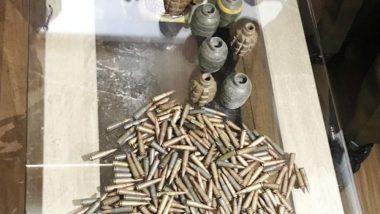 Srinagar: Female Over-Ground Worker Arrested for Carrying Grenades and Live Rounds in Lawaypora, Case Registered