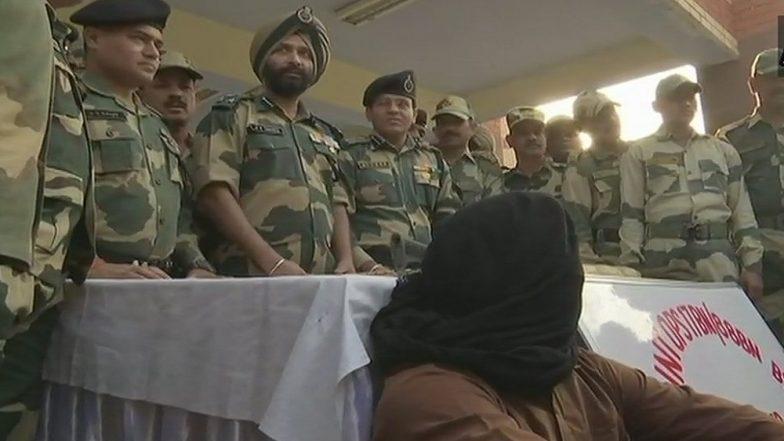 Pakistani Intruder Apprehended by BSF Near Amritsar Border Post, Arms Seized