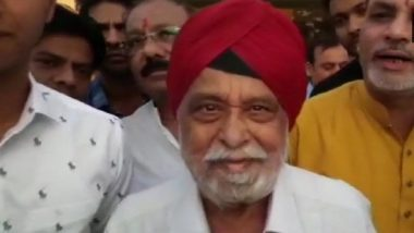 Madhya Pradesh Assembly Elections 2018: Former Union Minister and BJP Leader Sartaj Singh to Contest From Hoshangabad on Congress Ticket