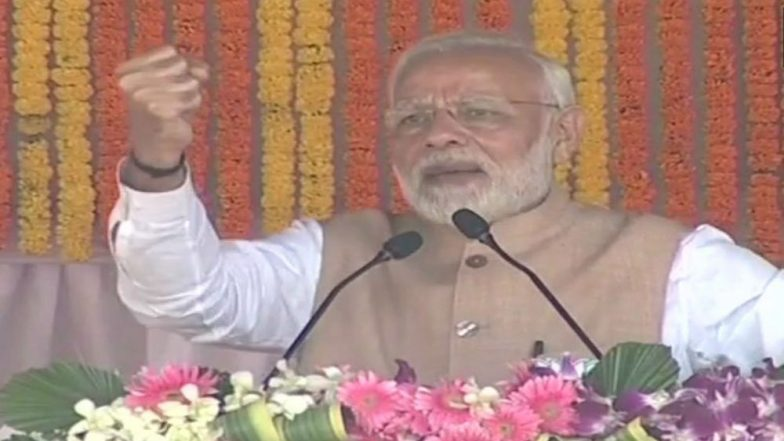 Chhattisgarh Assembly Elections 2018: PM Narendra Modi Takes Dig at Congress During Election Rally in Bastar; Key Highlights