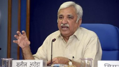 Sunil Arora Appointed New Chief Election Commissioner, to Take Charge From OP Rawat on December 2