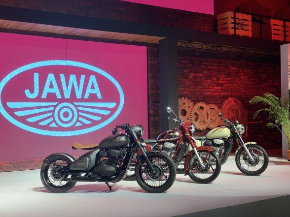 Jawa 300 cc motorcycle unveiled