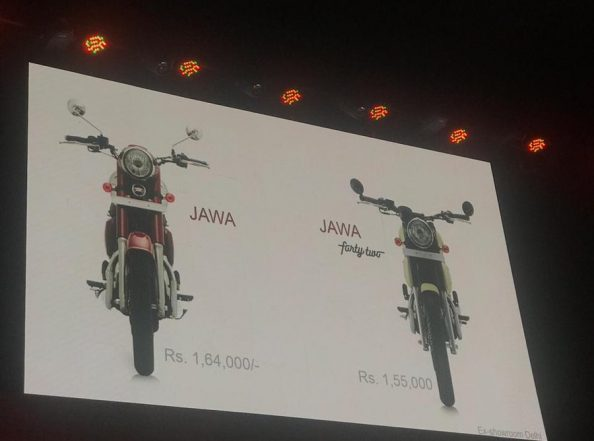 Jawa Bikes launched