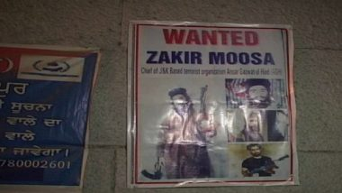 Punjab on High Alert: Police Issue Posters of Zakir Moosa After the Al-Qaeda Terrorist 'Spotted in Amritsar'