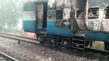 Haridwar: Man Sets Rishikesh- Delhi Passenger Train Coach on Fire After He Was Denied ID Card, Arrested
