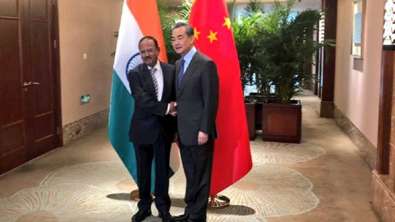 India-China Special Representatives Talks: Ajit Doval Meets Chinese Foreign Minister Wang Yi To Discuss Border Issues