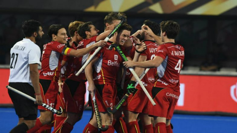 Belgium vs Canada, Men's Hockey World Cup 2018 Match Highlights: BEL Defeats CAN 2-1 in Tournament Opener!