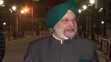 Shantanu Sen, TMC MP, Accuses Union Minister Hardeep Singh Puri of Verbally Abusing Him in Rajya Sabha