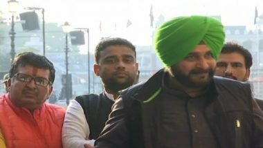 Kartarpur Corridor: Navjot Singh Sidhu Returns to India From Pakistan, Says 'Don't Know Who is Gopal Chawla' When Asked About Photo With Khalistani Leader
