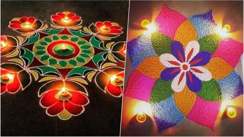 Image result for Diwali 2018: How to Make Easy & Colourful Rangoli Designs And Patterns