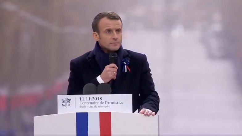 WWI Remembrance Day: France's Macron Warns Against Divisive Forces and 'Nationalism'