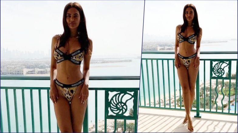 Hot Pic Alert! Esha Gupta Rocks Sexy Leopard Print Bra and Panty in New  Instagram