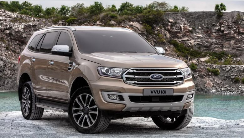 2019 Ford Endeavour Facelift (Mahindra Alturas SUV Rival) Spied; India Launch Imminent