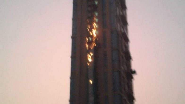 Huge Fire Erupts at 'The 42', Kolkata's Tallest Skyscraper, No Casualties Reported