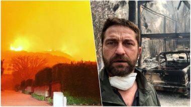 California Wildfires Affects Celebrities: Gerald Butler, Kim Kardashian, Lady Gaga, Orlando Bloom Forced to Evacuate Homes