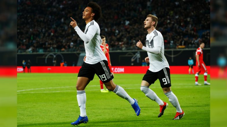Germany Defeats Russia 3-0, Match Highlights: Goals By Leroy Sane, Niklas Sule, and Serge Gnabry Sink Russian Side in the Friendly Fixture!