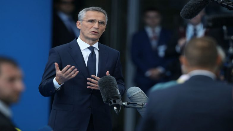 NATO Chief Jens Stoltenberg Makes Surprise Visit to Afghanistan to Meet President Ashraf Ghani