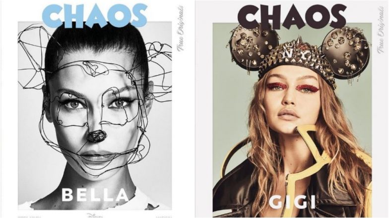 Gigi & Bella Hadid Pay Tribute to Micky Mouse on His 90th Birthday in a Stylish Photo Shoot for Chaos Magazine (See Pics)