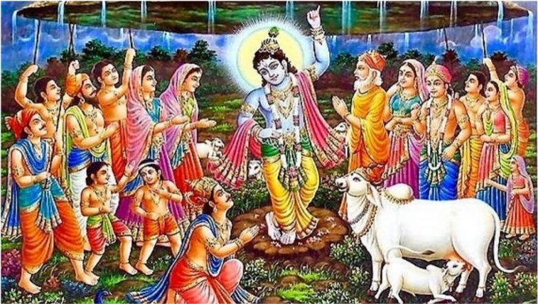 Govardhan Puja 2018 Date After Diwali: History, Puja Vidhi, Shubh Muhurat Timings & Rituals to Observe on Annakut Puja