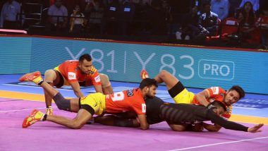 Gujarat Fortunegiants vs Haryana Steelers, PKL 2018-19 Match Live Streaming and Telecast Details: When and Where To Watch Pro Kabaddi League Season 6 Match Online on Hotstar and TV?